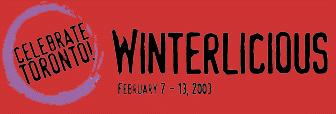 Winterlicious 2003